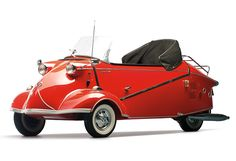 1957 Messerschmitt KR 201 Roadster. This could get me to buy a car again. Of course, we will have to get rid of the SUVs first.
