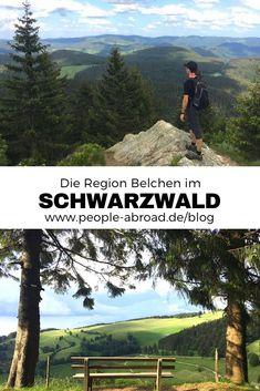 Belchen: Die Outdoor-Region im Schwarzwald - Ausflug Modelb Site Europa Tour, Outdoor Reisen, Reisen In Europa, Europe Destinations, Germany Travel, Hiking Germany, Black Forest, Outdoor Travel, Traveling By Yourself