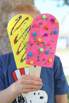 Felt Popsicle Craft Kids|  Darice