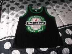 New Heineken beer Tank Tops Singlet Sleeveless by Nannapatt