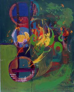 Original Abstract Painting  Acrylic on Masonite Board  by BugTaxi, $24.00