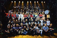 Fuerza Bruta Japan Tour 2014. All Cast &Crew.