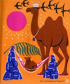 Saules Ziedi, illustrated by Uldis Zemzari in 1963 #camel