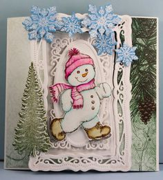 """MagPie's Corner : Heartfelt Creations Release Day...""""Snow Kissed"""" Collection..."""
