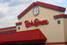 Bob Evans has Kids Eat Free on Tuesday Nights.