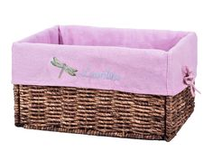 #basket#wicker basket#liner#liners#Basket liner#basket#storage basket#organize#organizer#blue#home#decor#customized#customized#customization#personalize#personalization#name#embroidery#gift #pink#baby#girl#baby girl#children#home#dragonfly#fly Baby Shower Baskets, Laundry Baskets, Baby Baskets, Easter Baskets, Wicker Baskets, Basket Storage, Basket Organization, Photos Of Cute Babies, Valentines Day Baskets