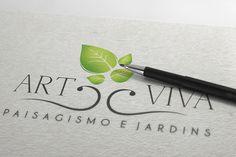 Criação e desenvolvimento da logomarca - Art Viva Jardins