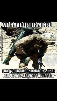 """Recently, I had a civilian ortho Doctor ask if I had been airborne when I was in the army. Puzzled ( that was 45 years ago) , I told him that I was. He said the he could tell, because I had what he called """"paratroopers knees """" !"""