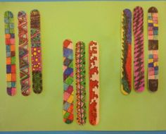 American Stick Game/ Weaving and several other Native American art lessons! Native American Games, Native American Lessons, Native American Projects, Native American History, Lessons For Kids, Art Lessons, Aboriginal Art For Kids, American Day, 3rd Grade Art