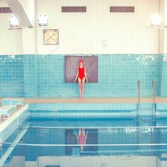 Swimming Trinity Series by Maria Svarbova