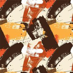 Patrón de trazos de pincel de pintura ab... | Free Vector #Freepik #freevector #patron #abstracto #plantilla #pintura