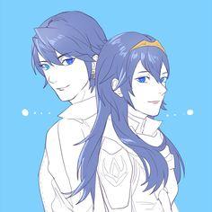 Inigo and Lucina