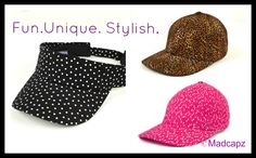 #BaseballHats #Fashion #Golf #Tennis #MadeinAmerica #Pink #BaseballCaps #Gifts Like Animals, Caps For Women, Made In America, Baseball Cap, Tennis, Polka Dots, Golf, Stylish, Hats