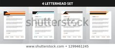 Find Letterhead Template Set stock images in HD and millions of other royalty-free stock photos, illustrations and vectors in the Shutterstock collection. Letterhead Design, Letterhead Template, New Pictures, Land Scape, Royalty Free Photos, Create Yourself, Templates, Letterhead, Stencils