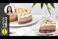 Nepečený piškotový dort - Markéta Krajčovičová - RECEPTY KUCHYNĚ LIDLU Tiramisu, Lidl, Cereal, Breakfast, Ethnic Recipes, Food, Youtube, Morning Coffee, Eten