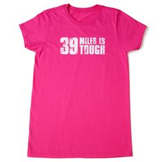 ONLINE EXCLUSIVE! Sure, 39 miles is a challenge, but we know you've got what it takes to cross that finish line! Get this limited edition tshirt, available online only (not on-event), while supplies last. Regularly $28.00, buy Avon Breast Cancer products online at http://eseagren.avonrepresentative.com
