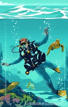 Want to know how to use less air while scuba diving and get longer bottom times? Check out these scuba diving training tips. : Want to know how to use less air while scuba diving and get longer bottom times? Check out these scuba diving training tips. Diving Logo, Scuba Diving Tattoo, Scuba Diving Quotes, Scuba Diving Mask, Sea Diving, Diving Suit, Horse Diving, Scuba Diving Pictures, Scuba Diving Magazine