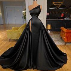 Pretty Prom Dresses, Glam Dresses, Black Prom Dresses, Event Dresses, Prom Party Dresses, Fashion Dresses, Formal Prom Dresses, Prom Dresses Tumblr, Satin Formal Dress