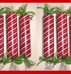 I'm going to do this with toilet paper tubes and wrapping paper and fill them with candy