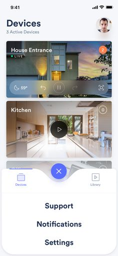 Creative Ui, Ux, Smart, Security, and Camera image ideas & inspiration on Designspiration Web Design, App Icon Design, App Design Inspiration, Flat Design, Mobile Ui Patterns, Mobile Ui Design, Mobile App Ui, Android, Layout