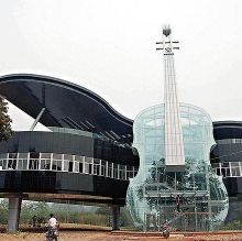 Just a music school in China...