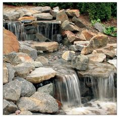 Planning A Pondless Waterfall