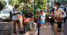Start-Up Makes Hands-Free Sanitizing Station; Installs 1050 In Mumbai