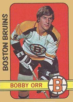 "Happy Birthday, March Robert Gordon ""Bobby"" Orr (March Hockey Player, Defence, 1966 - 78 for the Bruins and the Blackhawks. Hockey Hall of Famer. Hockey Teams, Hockey Stuff, Hockey Goalie, Hockey Mom, Sports Teams, Kids Sports, Boston Bruins Hockey, Blackhawks Hockey, Hockey Players"