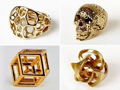 Shapeways Adds Brass & Gold to Their Materials Mix