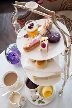 Chelsea Flower Show Afternoon Tea at Browns Hotel - London ....♥♥ .... AfternoonTea.co.uk