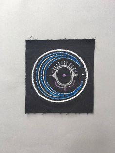 Moon sew-on patch