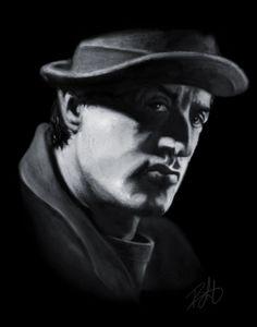 Rocky Balboa Portrait