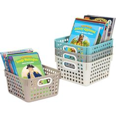 Book Baskets Square Shoreline