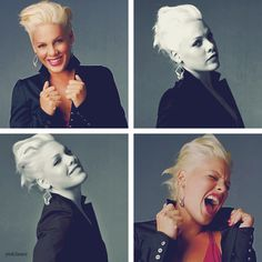 I Listen To P!NK 24/7 She Gets. Me Hyper. ;-$