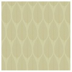 Candice Olson Dimension Dimensional Surfaces Pressed Wallpaper - Color: Lemongrass/Sage