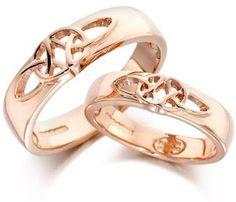 Comfort Fit Wedding Band: Tasting Celtic Wedding Rings (down)
