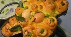 Ragazzi ... carta e penna! Ops, copia e incolla! Comunque se vi va prendete nota di questa ricetta della colomba di Pasqua in versione s... Crepes, Biscotti, Macaroni And Cheese, Shrimp, Eggs, Stuffed Peppers, Baking, Vegetables, Breakfast