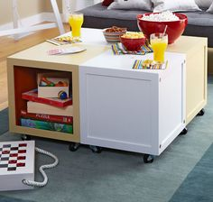 Build these simple cubes that work alone or as end tables. With two design options, they even help solve your storage needs.