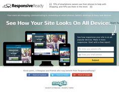 ResponsiveReady.com - Magento Responsive Layout Testing Tool.