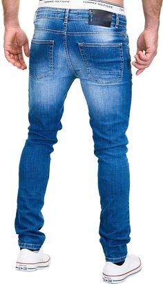 Denim Jeans Herren, Slim Fit, Denim Fashion, Stretch Jeans, Jeans Pants, Champion, Pocket, Fitness, Andorra