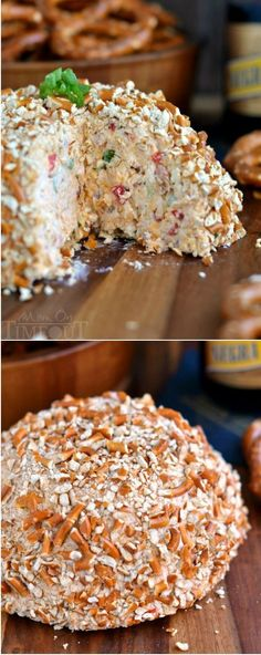 This Bacon Ranch Beer Cheeseball will blow any other appetizer you've ever had out of the water. It's just that good. | MomOnTimeout.com