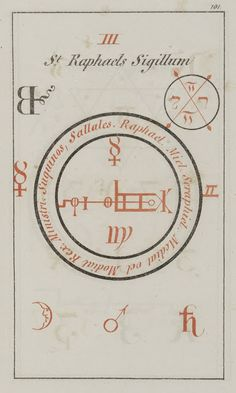 Asterion's Occult Art: Seal of Raphael (Faust) #art #occult