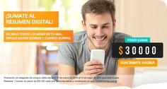 Suscribite al Resumen digital, podés ganar $30000. Ingresar ahora.