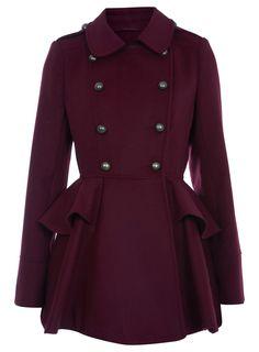 Full Skirted Coat / miss selfridge