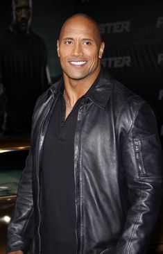 Dwayne Johnson...well isn't this just sex on a stick. I mean a hot piece of ass. I mean handsome man. There...got it right that time.