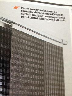 Ikea KVARTAL soft wall