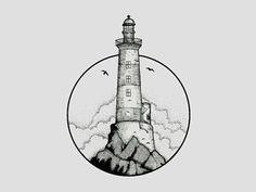 tattoo ideas /tattoo design / tattoo arm / tattoo for men / tattoo for women / tatoo geometric / tattoo skull / Tattoo small / Tattoo geometric Rose Tattoos, Black Tattoos, New Tattoos, Tattoos For Guys, Men Arm Tattoos, Small Tattoos Men, Dragon Tattoos, Tattoo Main, Lighthouse Drawing