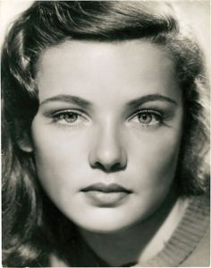 Gene Tierney - Young