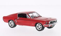 Ford Mustang GT 2+2 Fastback 1968 rot 1:43 Lucky Die Cast Signature Series