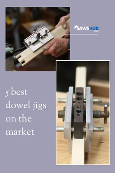 Looking for the best dowel jig for your wood project? Woodworking Projects Diy, Diy Pallet Projects, Woodworking Furniture, Wood Projects, Pallet Furniture Plans, Diy Furniture, Dowel Jig, Homemade Tables, Build Your Own House